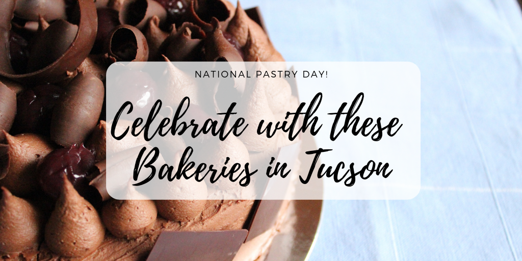 This Sunday, December 9th is National Pastry Day. Whether it's a blueerry scone, cherry danish or buttery croisant, there is a pastry for everyone. Enjoy these culinary masterpeices at our favorite bakeries in Tucson this weekend.
